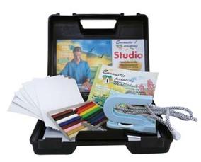 Encaustic Painting - Startset i väska