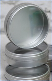 Encaustic - Metallbehållare 4-pack (Beställningsvara)
