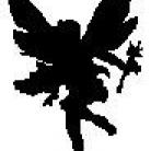 Encaustic Art - Stämpel - Liten Älva (Beställningsvara)
