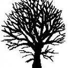 Encaustic Art - Stämpel - Träd/Buske