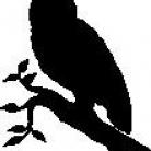 Encaustic Art - Stämpel - Uggla