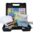 Encaustic Studio - Startset i väska