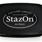 Tsukineko - StazOn Pad - Jet Black