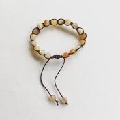 • 18 Bead Wrist Mala | Shamballa (Par) | Agat