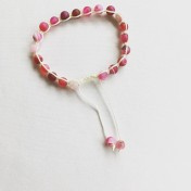 Malaarmband #SH03# 21 Bead - Shamballa Wrist Mala - Fuchsia Bandagat