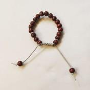 Malaarmband #W102# 18 Bead Wrist Mala - Malaträpärlor