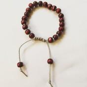 Malaarmband #W103# 21 Bead Wrist Mala - Malaträpärlor