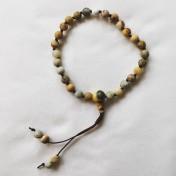 Malaarmband #W140# 27 Bead Wrist Mala - Crazy Lace, Howlit