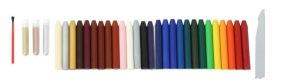 Encaustic Painting - Vaxstick Träskrin Set (Beställningsvara)