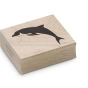 Encaustic Art - Stämpel - Delfin