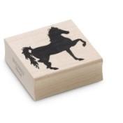Encaustic Art - Stämpel - Häst