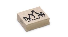 Encaustic Art - Stämpel - (011) Pingviner