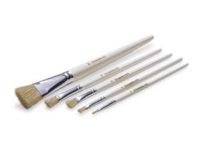 Encaustic Art - Svinborst Penselset 5-pack