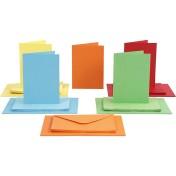 Brevkort set - Mixade Färger 50 set