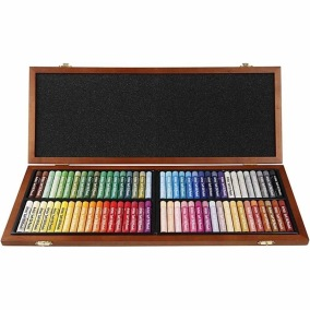 Mungyo Oljepastell - Mixade färger 72-pack