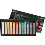 Gallery Torrpastel - 12 Mixade färger (Beställningsvara)