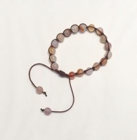 • 18 Bead Wrist Mala | Shamballa (Par) | Agat (SH04)