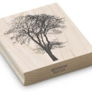 Encaustic Art - Stämpel - (030) Askträd