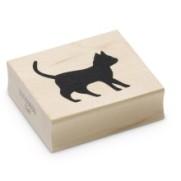Encaustic Art - Stämpel - (031) Katt