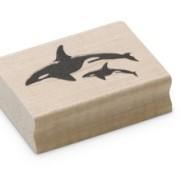 Encaustic Art - Stämpel - (025) Späckhuggare