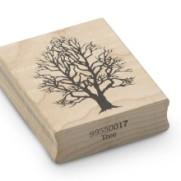 Encaustic Art - Stämpel - (017) Träd