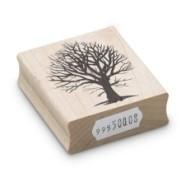 Encaustic Art - Stämpel - (008) Träd/Buske