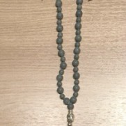 •40+1 Bead Mala | Hem | Bil|Black Stone (C04)