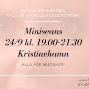 2020-09-24 (150 min) Miniseans 19.00 (Kristinehamn)