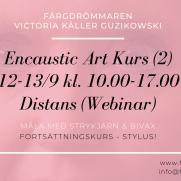 2020-09-12-2020-09-13 Encaustic Art - Kurs (2) Stylus (ONLINE/ZOOM)