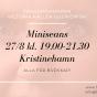 2020-08-27 (150 min) Miniseans 19.00 (Kristinehamn)