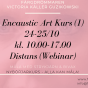 2020-10-24-2020-10-25 Encaustic Art - Kurs (1) Nybörjare (ONLINE/ZOOM)