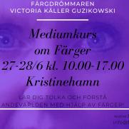 2020-06-27-2020-06-28 Mediumkurs om färger (Kristinehamn)