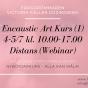 2020-07-04-2020-07-05 Encaustic Art - Kurs (1) Nybörjare (ONLINE/ZOOM)
