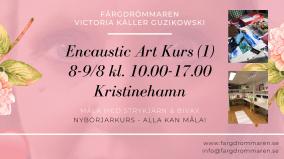 2020-08-08-2020-08-09 Encaustic Art - Kurs (1) Nybörjare (Kristinehamn)