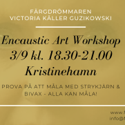 2020-09-03 Encaustic Art - Workshop teknik 18.30 (Kristinehamn)