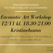 2020-11-12 Encaustic Art - Workshop Teknik 18.30 (Kristinehamn)