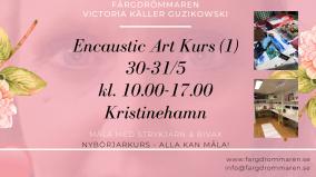 2020-05-30-2020-05-31 Encaustic Art - Kurs (1) Nybörjare (Kristinehamn)