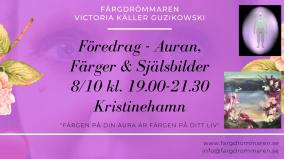 2020-10-08 (150 min) Föredrag Auran, Färger & Själsbilder 19.00 (Kristinehamn eller zoom)