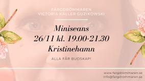 2020-11-26 (150 min) Miniseans 19.00 (Kristinehamn)