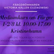 2020-08-01-2020-08-02 Mediumkurs om färger (Kristinehamn)