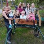 barn och vagn