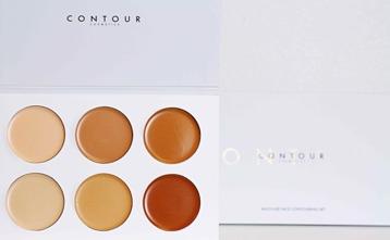 Contour kit 1 - Stor Palette 6x3g