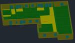 3D modell av Kanotvägen 2 gjort i ROOM