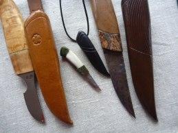 Gundoff Pålssons största och minsta knivar