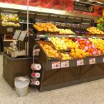 Fruktbord och vågskåp