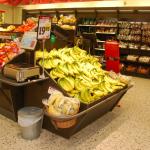Fruktbord+Bananbord med våghylla