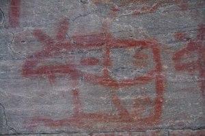 ERFARENHET  - ca 2000 år gammal hällmålning, Härjedalen