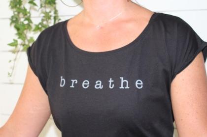 - breathe - T-shirt Black -