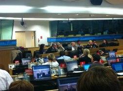 Europafackets styrelsemöte i Bryssel 5-6 juni.