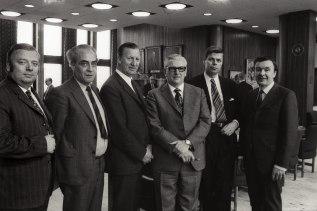 PAY:n järjestäytymiskokous 1972. Valokuva: Arbeiderbevegelsens arkiv og bibliotek